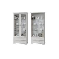 Шкаф-витрина Николь с 2-мя стеклянными дверками