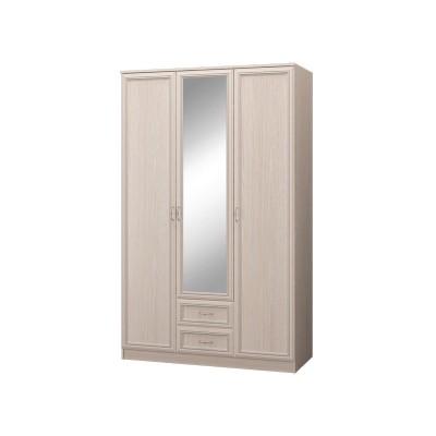 Шкаф трехдверный с зеркалом Верона