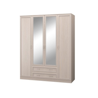 Шкаф четырехдверный с зеркалом Верона