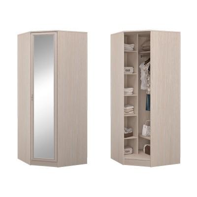Шкаф угловой с зеркалом в спальню Верона
