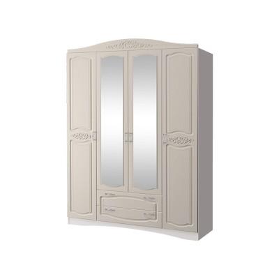 Шкаф четырех дверный с зеркалами Виола 2