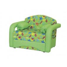 Диван детский Антошка зеленый 120 арт 10016
