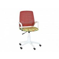 Кресло Ирис white kids стандарт красный-Т-53