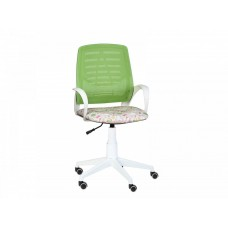 Кресло Ирис white kids стандарт зеленый-Т-54