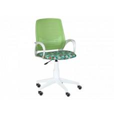 Кресло Ирис white kids стандарт зеленый-Т-58