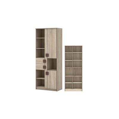 Шк 21 Шкаф 2-х дверный с ящиками Диско