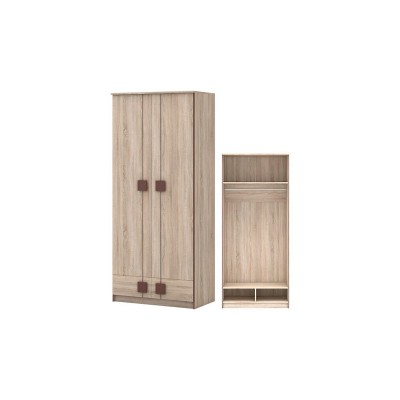 Шк 24 Шкаф 2-х дверный с ящиками Диско