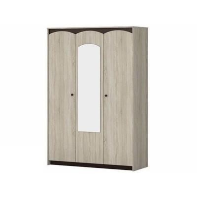 Шкаф 3-х дверный Шк 85 Ева