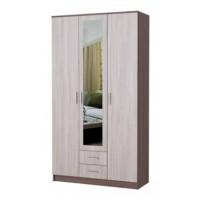 Шкаф Трио 3х-створчатый с зеркалом