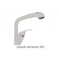 Смеситель для кухни Высокая лейка Tolero Серый металлик 001
