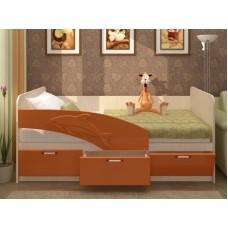 Кровать Дельфин МДФ 2.0 (фасад 3D)