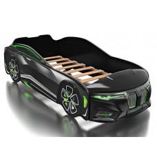 Кровать Boxter (Бокстер) с объемным капотом черная