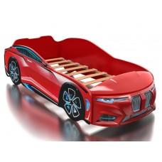 Кровать Boxter (Бокстер) с объемным капотом красная
