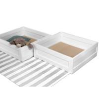 Ящики для кровати-домика яв-2 розовые 770