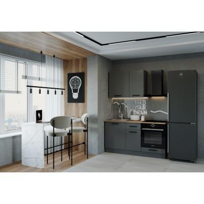 Гарнитур кухонный Антрацит-1600