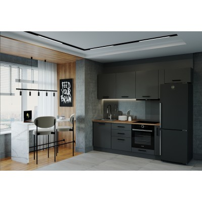 Гарнитур кухонный Антрацит-2550