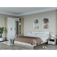 Спальня Ривьера 3 Дуб Крафт
