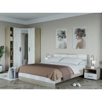 Спальня Ривьера 4 Дуб Крафт