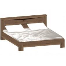 Кровать Гарда Дуб галифакс Табак