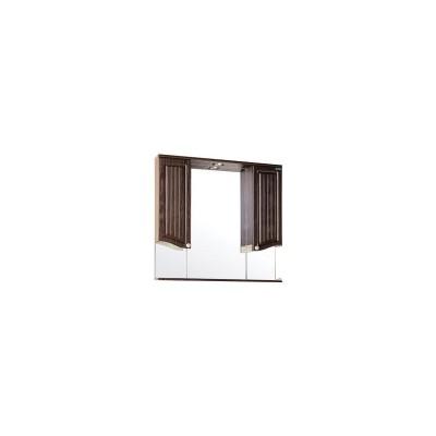 Зеркало с подсветкой Тоскана-Венге 80
