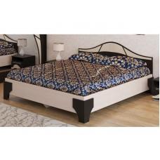 Кровать Лагуна 5 Венге/Дуб млечный