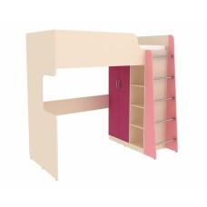 Кровать двухъярусная Дарина УК03 Розовый