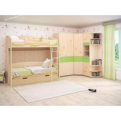 Набор мебели для детской Акварель 17