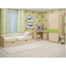 Детская Акварель 18 с угловым столом