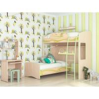Детская комната Акварель 30 с двухъярусной кроватью