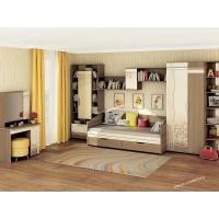 Подростковая мебель Бриз 3 с туалетным столиком