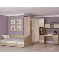 Детская мебель Бриз 52 с угловым шкафом