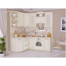 Кухонный гарнитур угловой левый Милана 15 (ширина 150х200 см)