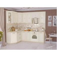 Кухонный гарнитур угловой левый Милана 17 (ширина 160х240 см)