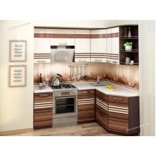 Кухонный гарнитур угловой правый Рио 14 (ширина 200х150 см)
