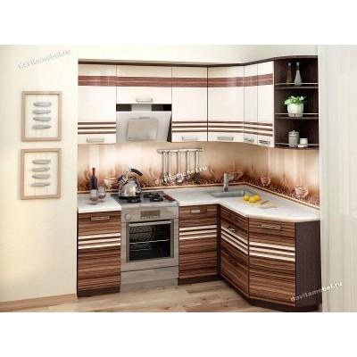 Кухонный гарнитур угловой правый Рио 14