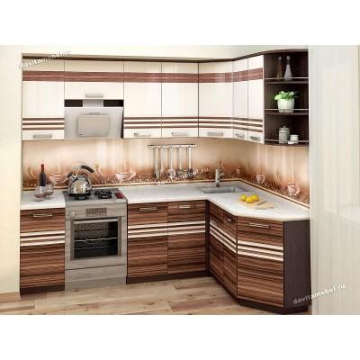 Кухонный гарнитур угловой правый Рио 16 (ширина 240х160 см)