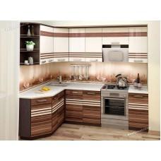 Кухонный гарнитур угловой правый Рио 17 (ширина 160х240 см)