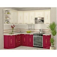 Кухонный гарнитур угловой Виктория 17 (ширина 160x240 см)