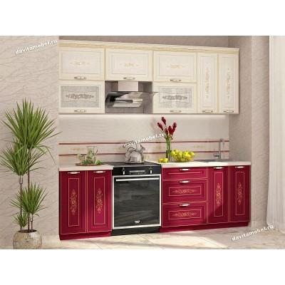 Кухонный гарнитур Виктория 11 (ширина 240 см)