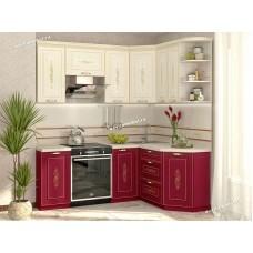 Кухонный гарнитур угловой правый Виктория 14 (ширина 200x150 см)