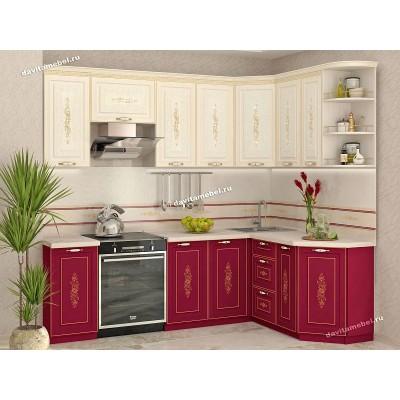Кухонный гарнитур угловой Виктория 16