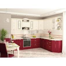 Кухонный гарнитур угловой Виктория 18 (ширина 280x230 см)